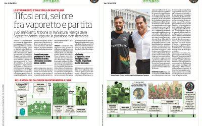 Il dott. Dante Scibilia intervistato da Il Corriere dello Sport