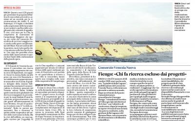 Clea sc costruzioni generali deposita la domanda di concordato preventivo, il dott. Scibilia Dante nominato Commissario Giudiziale dal Tribunale di Venezia.