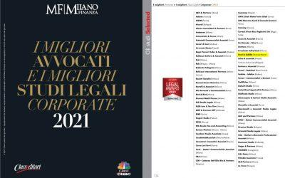 Milano Finanza Legal Award 2021 – i migliori studi legali corporate: Facci Scibilia selezionato